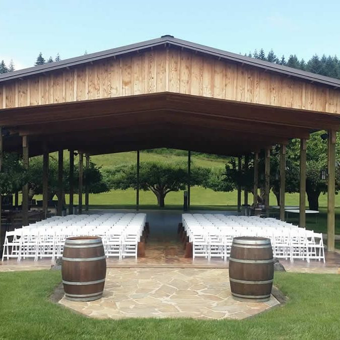 Lewis county weddings venue including rehearsal time